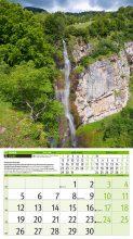 Календар Водопади 2017–разтвор