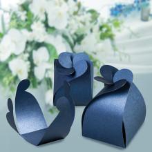 Четирилистна кутийка–синя